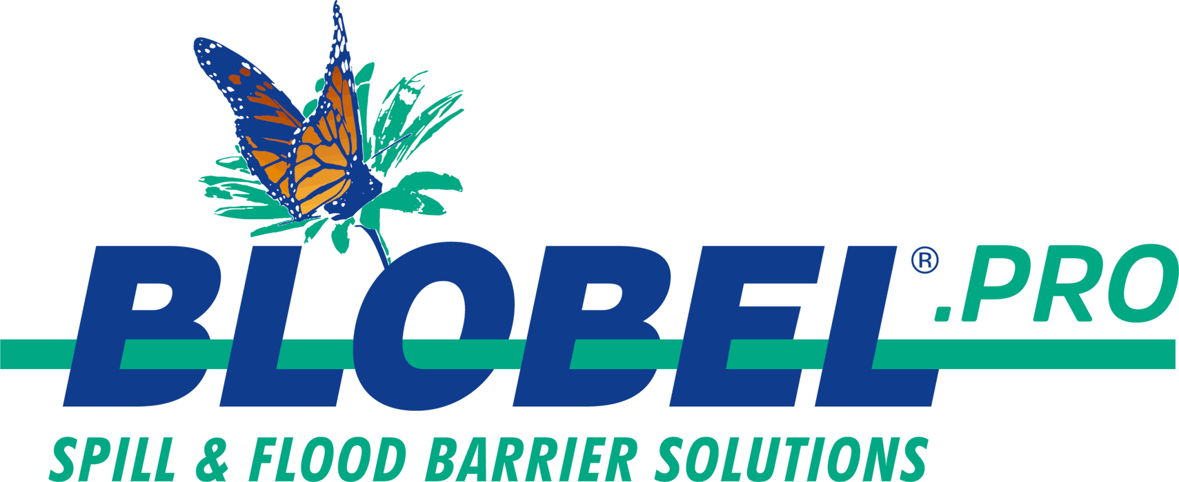 blobel spill barrier and flood barrier logo